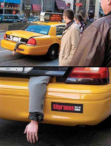 The Sopranos' Taxi