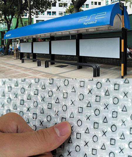 PS2 Bus-Station Bubble Wrap