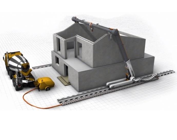 Costruire una casa con la stampante 3D