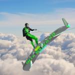 Wingboarding: surf tra le nuvole